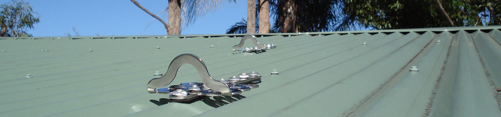Certify roof anchor points and safety systems
